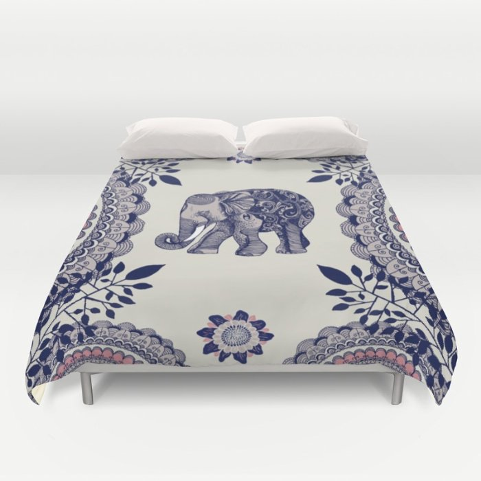 Elephant Pink DUVET COVERS for QUEEN SIZE 1XWkEj3
