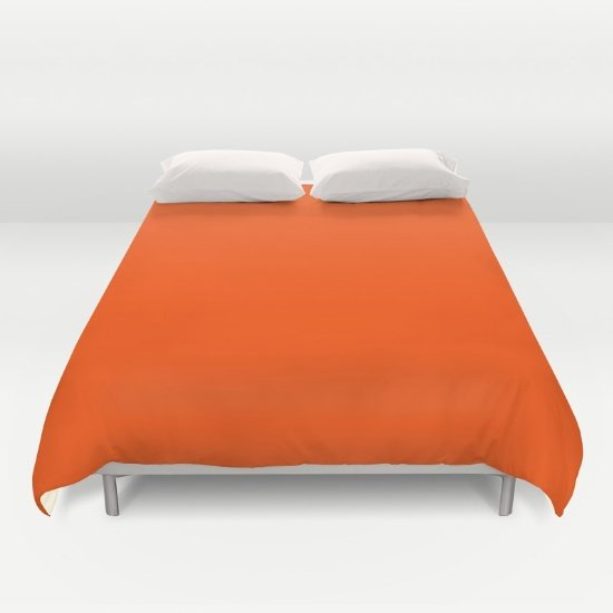 Orange DUVET COVERS for QUEEN SIZE 2g2Q458