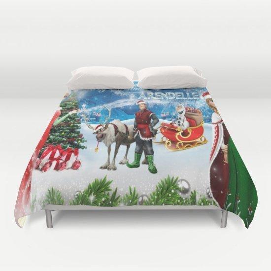 Frozen Christmas DUVET COVERS for KING SIZE 2eRsVXp