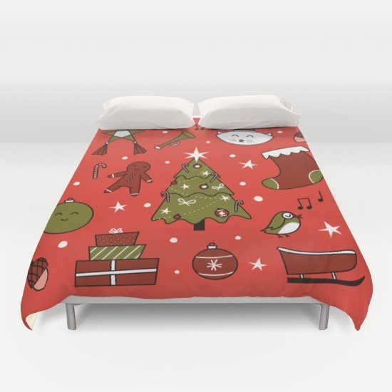 Christmas DUVET COVERS for QUEEN SIZE 2h2GW4V