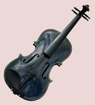 4/4 Violin with Accessories & Case Full Size, Black