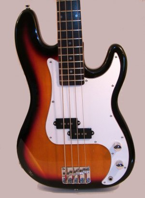 Bass Guitar, Sunburst