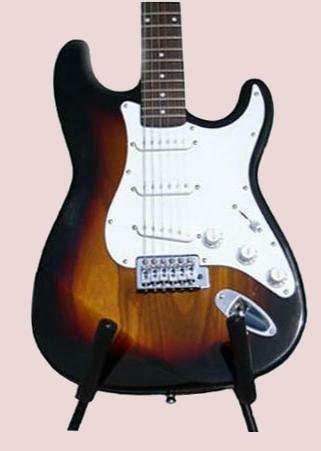 Electric Guitar, Coffee