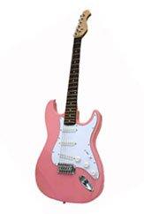 Electric Guitar, Pink