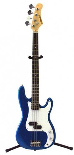 Bass Guitar, Metallic Blue