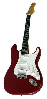 Electric Guitar, Metallic Red