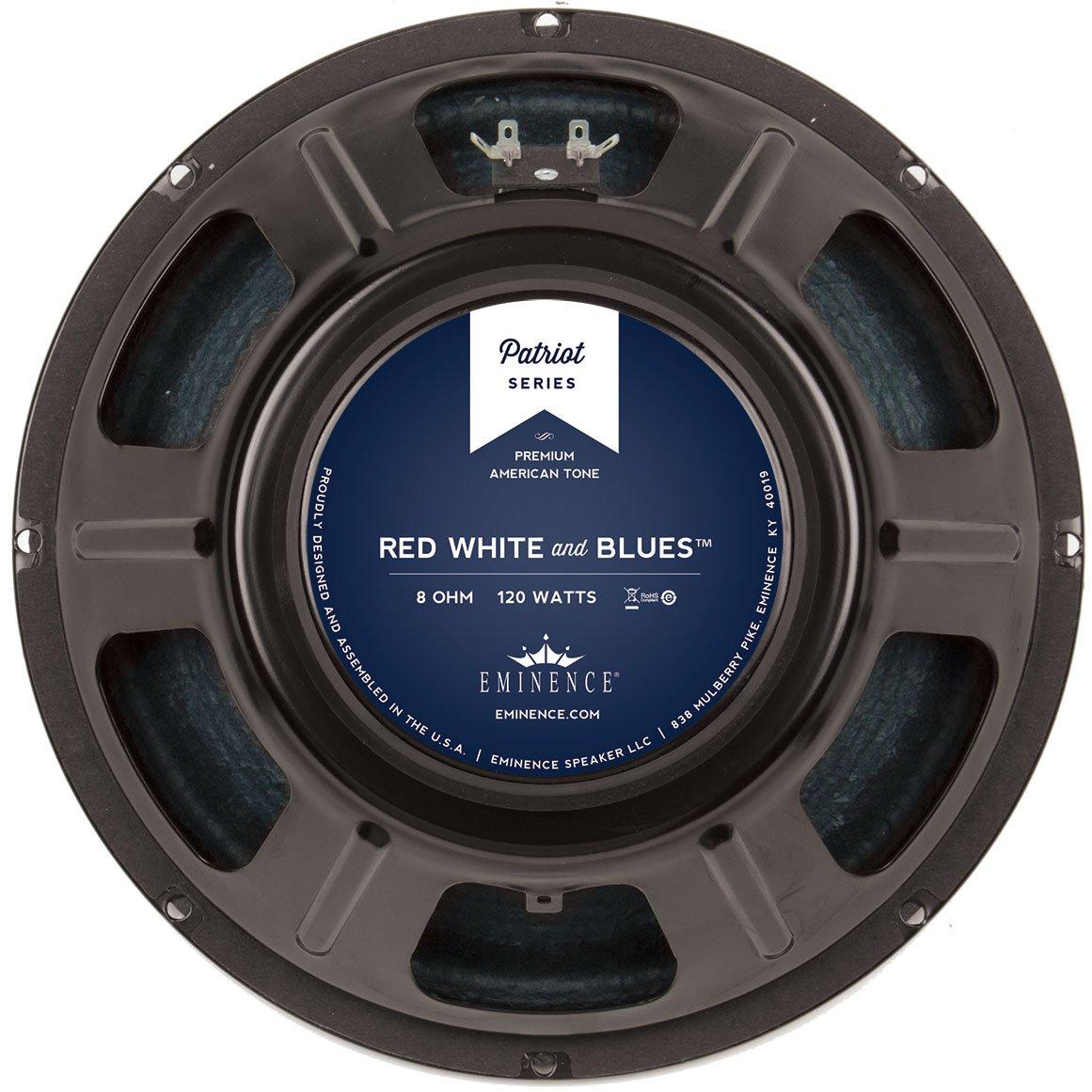 "Eminence Patriot Red White & Blues 12"" Guitar Speaker 120W 16 Ohm"