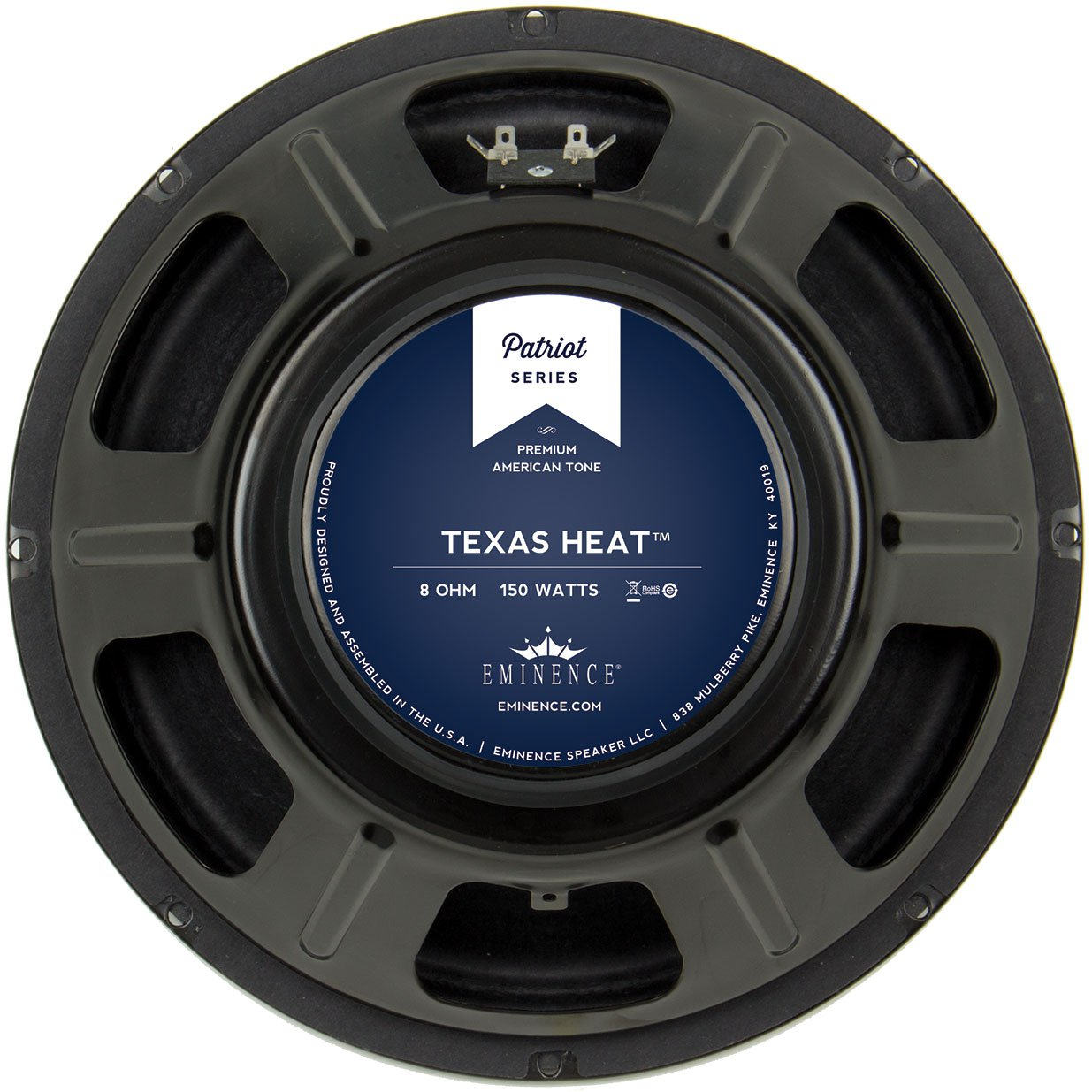 "Eminence Patriot Texas Heat 12"" Guitar Speaker 150W 8 Ohm"