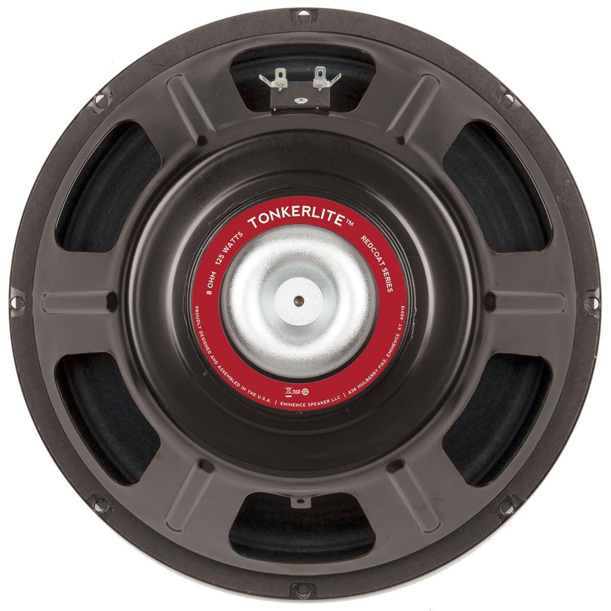 """Eminence Red Coat Tonkerlite Neo 12"""" Guitar Speaker 125W 8 Ohm"""