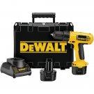 DEWALT DC750KA 9.6-Volt Drill/Driver Kit