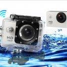 YLT SJ4000 30M Waterproof HD 1080P Sports Video Camera (Silver)