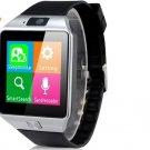 "DZ09 1.54"" FQVGA 240 X 240 Bluetooth 3.0 Smart Watch Phone with SMS Reminder(Black)"