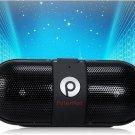 PTH919 Portable High Fidelity Bluetooth Speaker with AUX, TF Card Slot & Remote Shutter (Black)