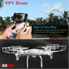 X6SW Real-Time Transmission Quadcopter IOS/Android WiFi FPV Camera Drone vs X5SW,X300,