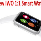 New Bluetooth Smart Watch IWO 1:1 waterproof SmartWatch for apple iPhone IOS and Android Smartphones