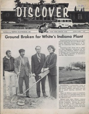 Discover Newsletter- White's Electronics March-April 1972