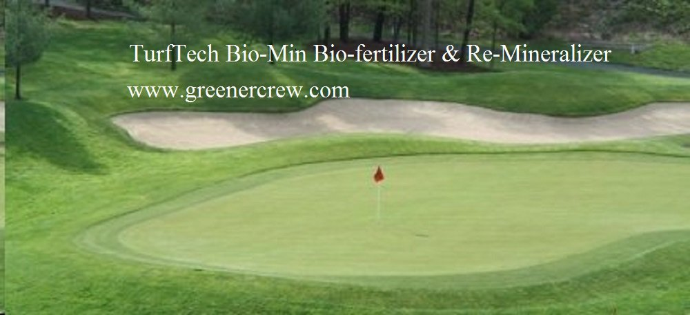 Organic TurfTech Bio-Min Bio-Fertilizer & Re-Mineralizer
