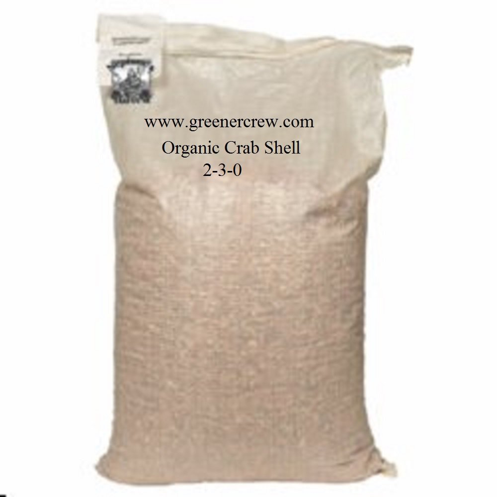 Organic Crab Shell Fertilizer 2-3-0