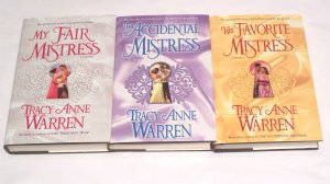 THE MISTRESS TRILOGY BY TRACY ANNE WARREN ALL 3 HC/HB *BRAND NEW*