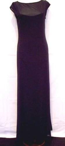 Laundry by Shelli Segal Evening Dress NWOT BLACK SIZE 8