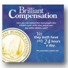 Audio CD - Brilliant Compensation by Tim Sales 5 Copies