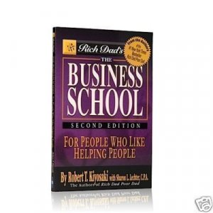 The Business School by Robert Kiyosaki 100 Book Lot