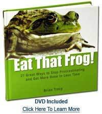 Eat that Frog Hardcover by Brian Tracy