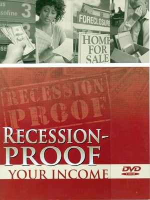 Recession Proof Your Income DVD - Brochure Packaging