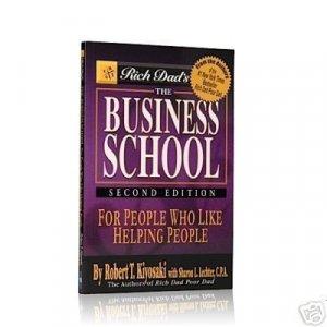 The Business School Robert Kiyosaki 10 Book Lot