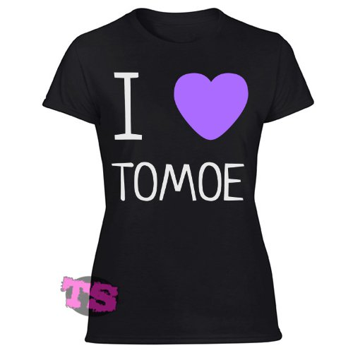 i heart dupa funny polish Women's Black T Shirt