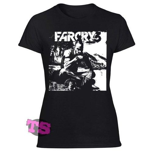 Far Cry 3 Women's Black T Shirt
