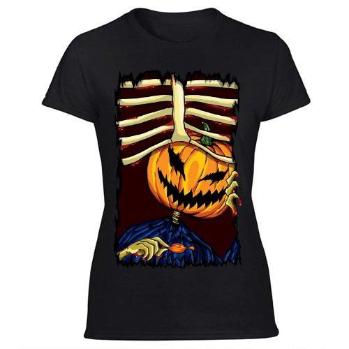 Halloween Women's Black T Shirt