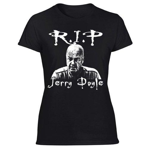 Jerry Doyle RIP Women's Black T Shirt