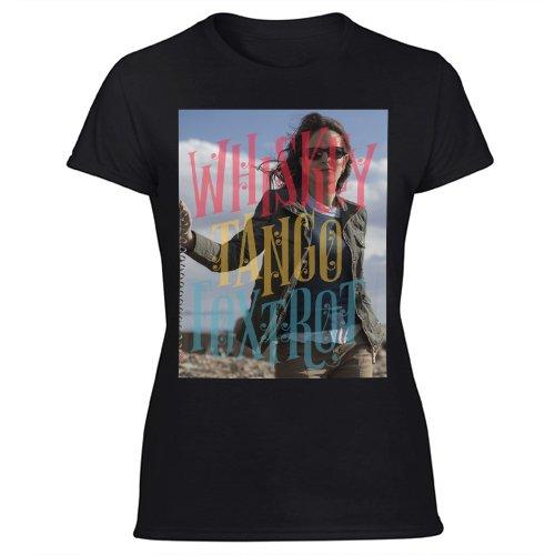 New Hot Whiskey Tango Foxtrot Women's Black T Shirt