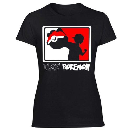 Play Pokemon Go Women's Black T Shirt