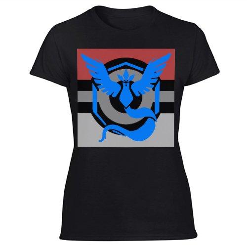 Team Mystic Pokemon Go Women's Black T Shirt