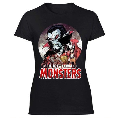 The Legion of Monsters Marvel Comic Legion of Monsters Team Women's Black T Shirt