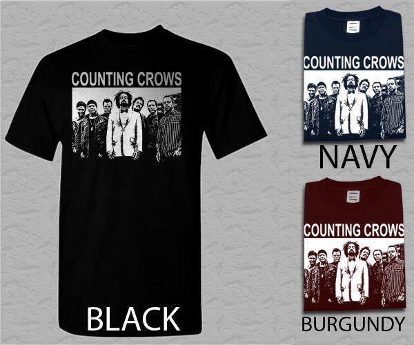 Counting_Crows_T-shirt_Adam_Duritz_Shirt_David_Immergl_ck_Dan_Vickrey_Alternative_Pop_Rock_T-Shirt