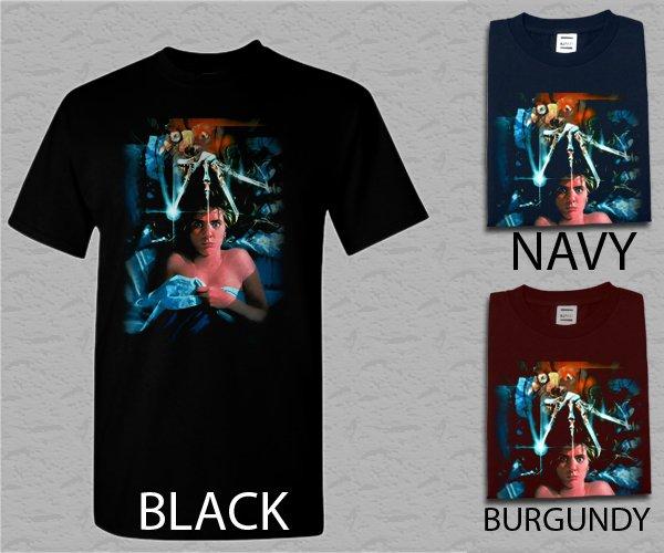 Men T Shirt A Nightmare On Elm Street - Custom Adult T-Shirt S - XXL