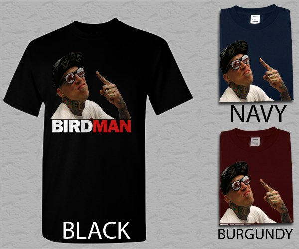 Men T Shirt Chris Birdman Andersen FACE Adult T-Shirt S - XXL