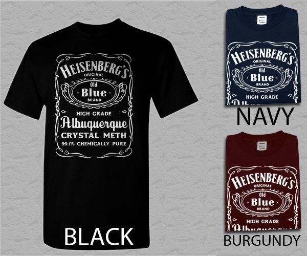 Men T Shirt Heisenberg Breaking bad Adult T-Shirt S - XXL