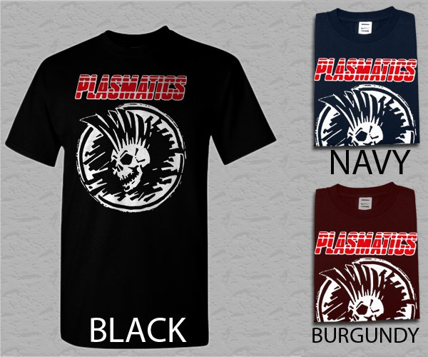 Men T Shirt Plasmatics Wendy O music punk rock Adult T-Shirt S - XXL