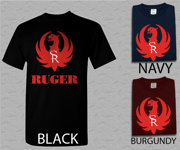 Men T Shirt Ruger Firearms Adult T-Shirt S - XXL