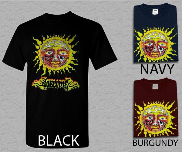 Men T Shirt Sublime Sun Adult T-Shirt S - XXL