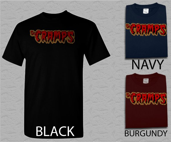 Men T Shirt The Cramps Punk Rock Adult T-Shirt S - XXL