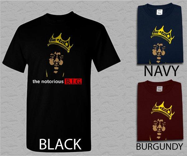 Men T Shirt The Notorious B.I.G. Juicy Biggie Adult T-Shirt S - XXL