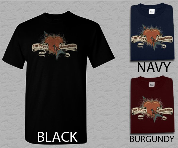 Men T Shirt Tom Petty American Singer Heartbreakers Adult T-Shirt S - XXL