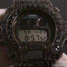 BLACK BIG STONE 13.5 CTW G-SHOCK DW6900 Item # JFGS024