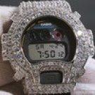 RHODIUM BIG STONE 13.5 CTW G-SHOCK DW6900