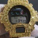 CANARY CUSTOM BIG STONE 13.5 CTW G-SHOCK DW6900